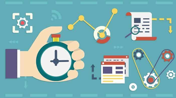 productivity vector illustrations