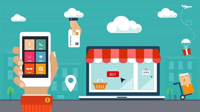 multi channel marketing concept
