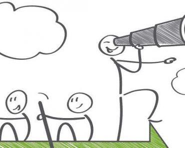 teamwork and leadership efforts cartoon