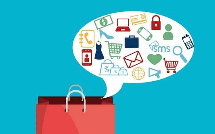 targeted shopping illustration