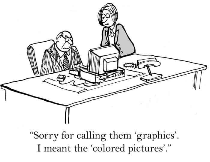 powerpoint presentation cartoon