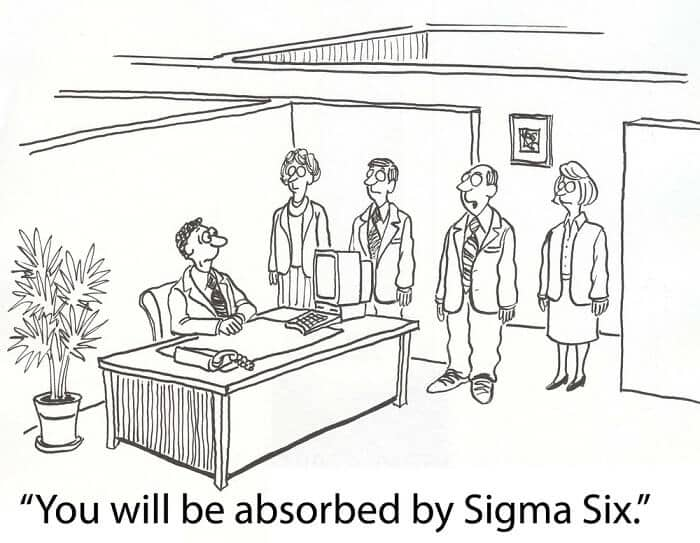 six sigma funny