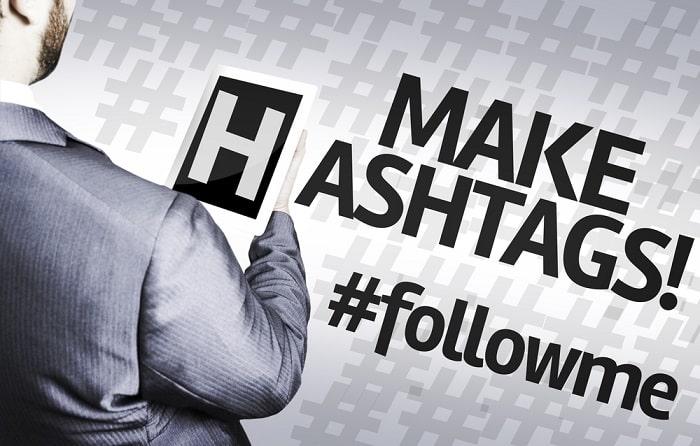 business hashtag