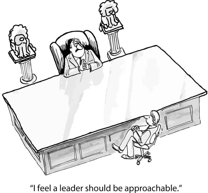 funny leader
