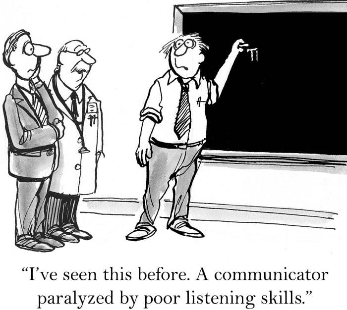 listening skills funny