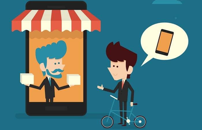 online store mobile design