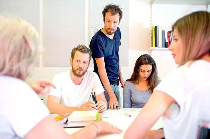 design team discussing
