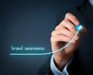 brand awareness ascending line