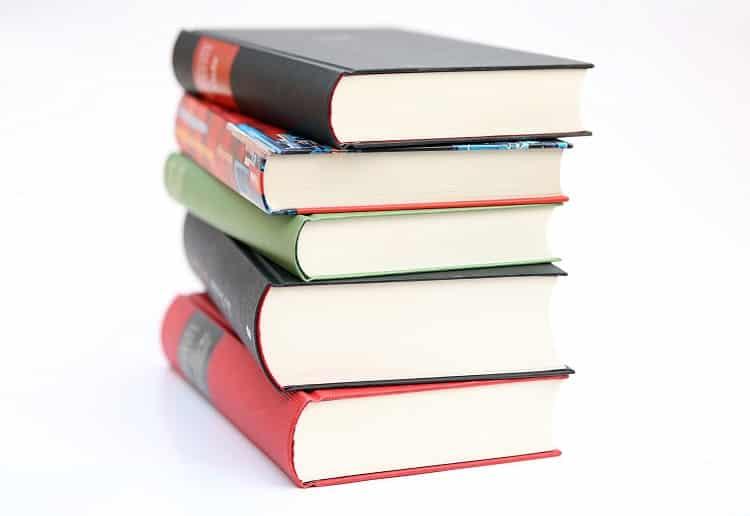 Five books bundled together