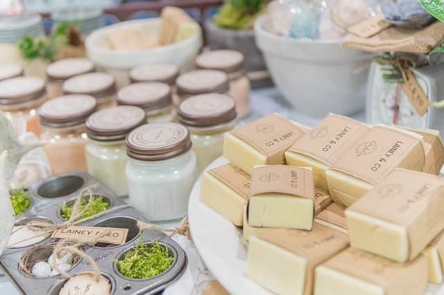 Making organic soap can be a fun and Eco-Friendly business idea.