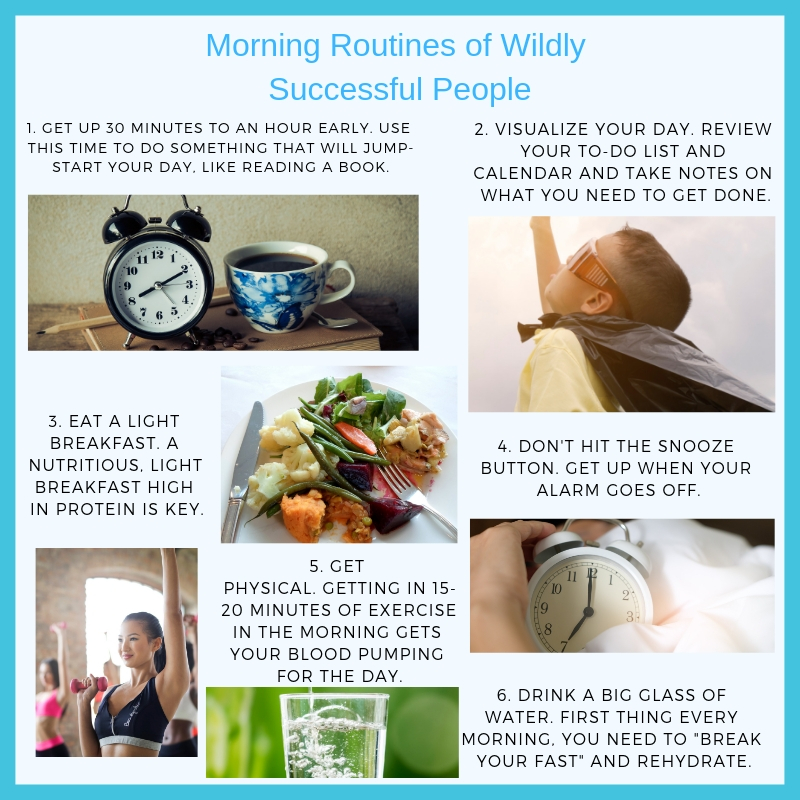 Morning Routines of Wildly Successful People