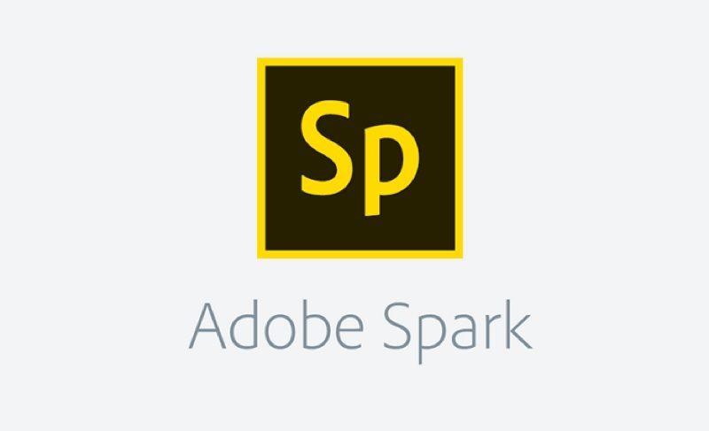 Adobe Spark's logo
